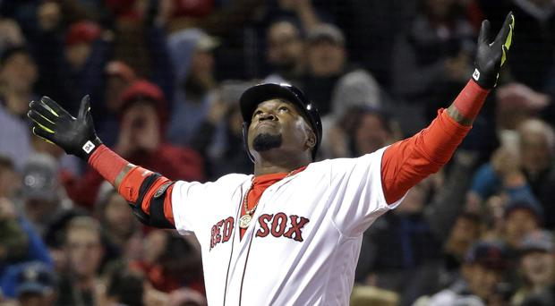 David Ortiz is back in the US after he was shot (AP Photo/Elise Amendola, File)