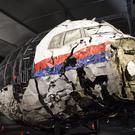 An images from the final report into the investigation of the explosion on Boeing 777 flight MH17 which killed 298 people (Dutch Safety Board/PA)