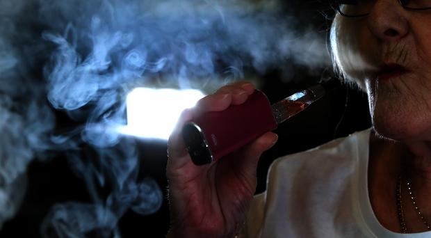 Vaping (Peter Byrne/PA)