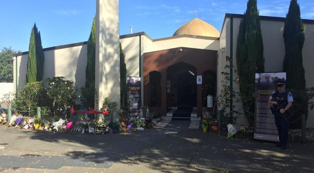 Masjid Al Noor in Christchurch was the scene of one attack (PA)