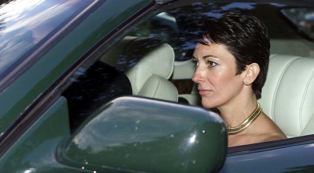 Ghislaine Maxwell is being sued in New York (Chris Ison/PA)