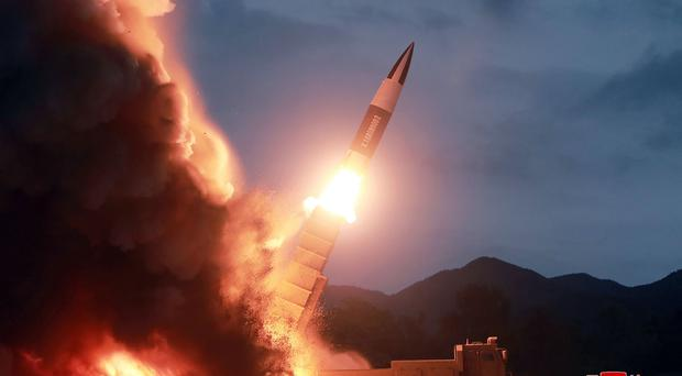 There has been a recent streak of weapons displays by North Korea (Korean Central News Agency/Korea News Service via AP)