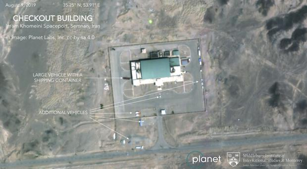 (Planet Labs Inc, Middlebury Institute of International Studies via AP)