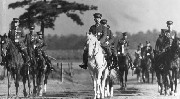 Emperor Hirohito, pictured in 1940 (Kyodo/AP)