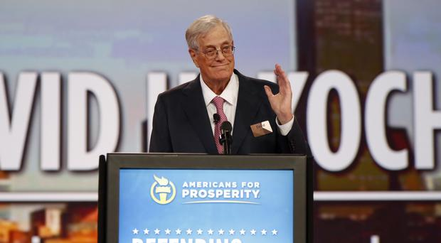 David Koch (Paul Vernon/AP)