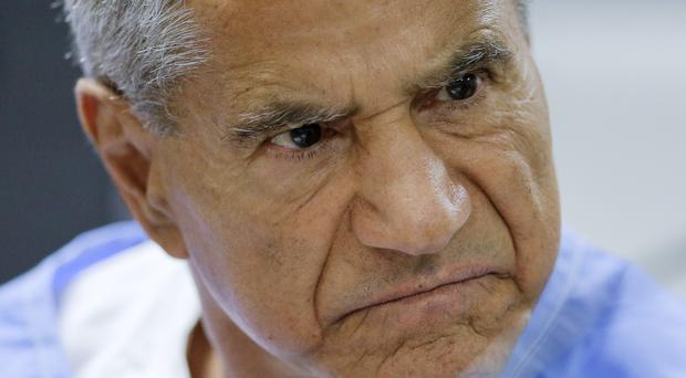 File picture of Sirhan Sirhan at a parole hearing (Gregory Bull/AP)