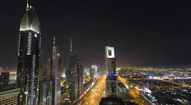 A view of the skyline in Dubai (Yui Mok/PA)
