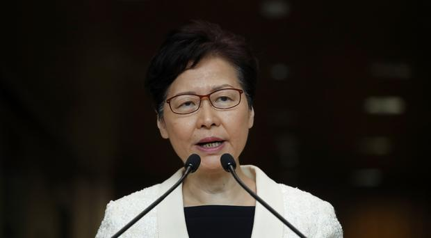 Carrie Lam has been criticised over the extradition Bill (Jae C. Hong, File)