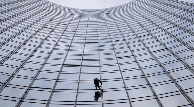 French urban climber Alain Robert (AP)