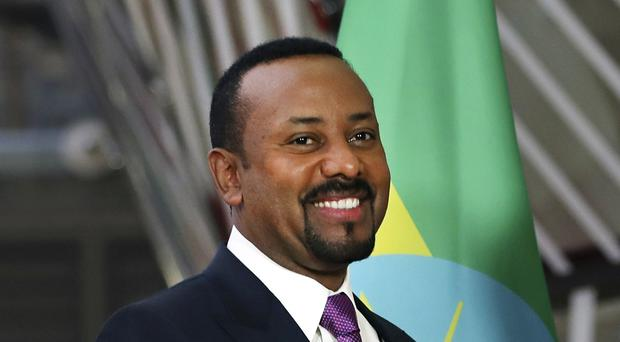 Ethiopian Prime Minister Abiy Ahmed has won the Nobel Peace Prize (Francisco Seco/AP)