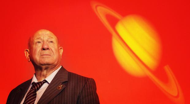Alexei Leonov died at his home in Moscow on Friday (PA)