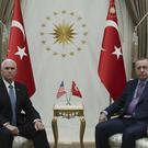 Mike Pence and Recep Tayyip Erdogan (Presidential Press Service/AP)