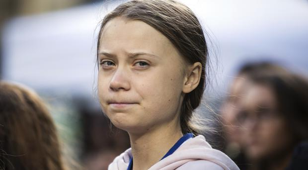 Swedish climate activist Greta Thunberg (Melissa Renwick/The Canadian Press via AP)