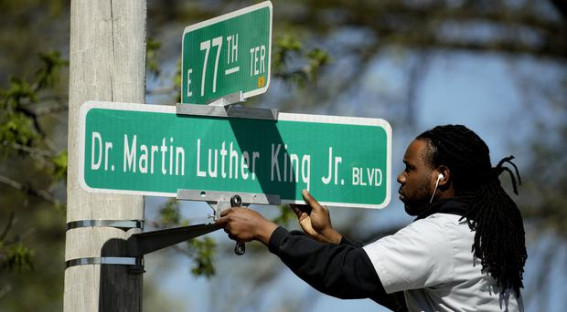 The street name will be changed (Charlie Riedel/AP)
