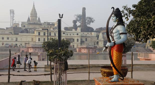 The dispute over land ownership has been one of the country's most contentious issues (Rajesh Kumar Singh/AP)