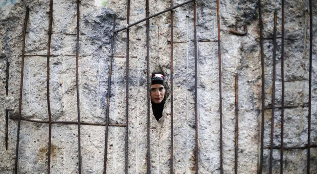 Events focused on what remains of the wall across Berlin (Markus Schreiber/AP)