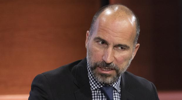 Dara Khosrowshahi has faced criticism over comments about Jamal Khashoggi (Mark Lennihan/AP)