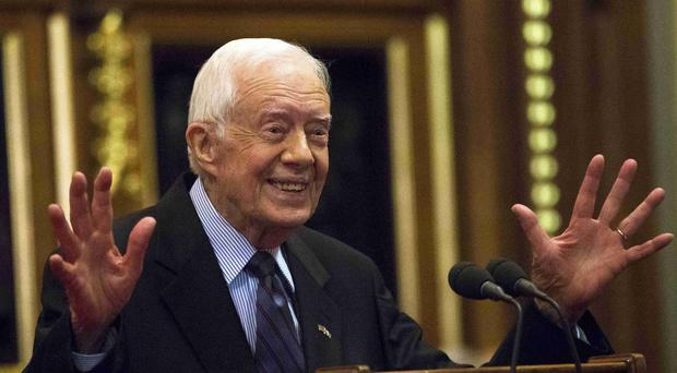 Jimmy Carter (Neil Hall/PA)