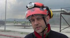 James Le Mesurier was founder and director of Mayday Rescue (AP)