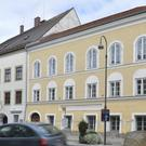 An exterior view of Adolf Hitler's birth house, front, in Braunau am Inn, Austria (Kerstin Joensson/AP)