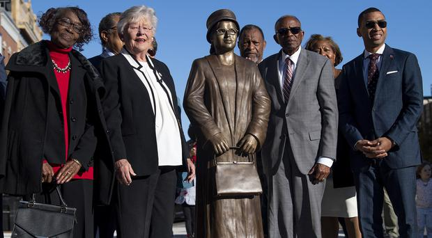 A statue of Rosa Parks (Mickey Welsh/AP)