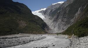 The Franz Josef Glacier in New Zealand (Nick Perry/AP)