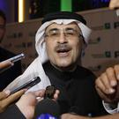 Saudi Arabia's state-owned oil company Aramco CEO Amin Al-Nasser (AP Photo/Amr Nabil)