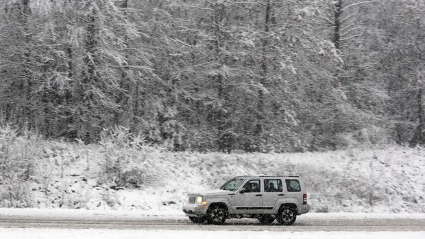 Parts of the US have been hit by a major snowstorm (AP)