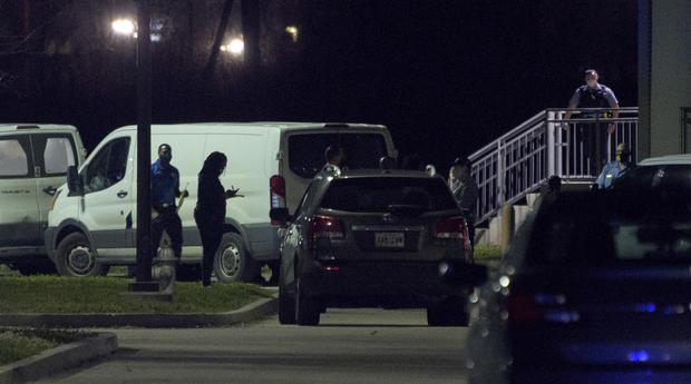 The man allegedly opened fire after being refused entry to the match (The Times-Picayune/The New Orleans Advocate/AP)