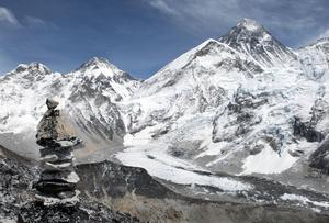 General view of Mount Everest in Nepal (David Cheskin/AP)