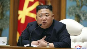 Speculation continues over the health of North Korean leader Kim Jong Un (Korean Central News Agency/Korea News Service/AP)
