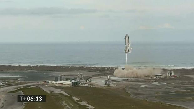 The failure occurred just minutes after SpaceX declared success (SpaceX/AP)