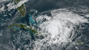 Hurricane Isaias churns in the Caribbean (NOAA/AP)