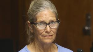 Leslie Van Houten at a 2017 parole hearing (Stan Lim/Orange County Register/SCNG via AP, Pool, File)