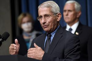 Dr Anthony Fauci (Susan Walsh/AP)