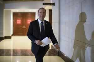 Adam Schiff expressed concerns about White House redactions on the Democratic memo (AP)