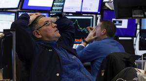 Traders have seen more losses on the New York Stock Exchange (Richard Drew/AP)
