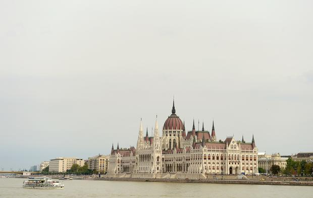 The Hungarian Parliament Building on the banks of the Danube (Adam Davy/PA)