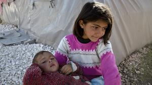 Syria's interim government has warned that its people could be hit by a potential food crisis. (AP)