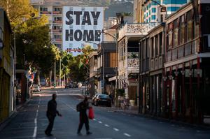 A deserted Cape Town