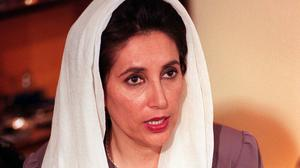 Benazir Bhutto died in 2007