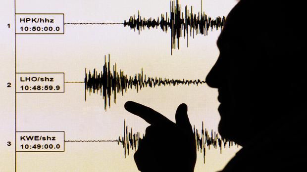 Earthquake specialists measured the magnitude of the quake at 5.7