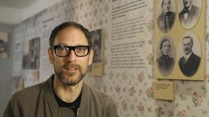 Documentary-maker Ben Lewis at the Jewish Museum in London, as hundreds of British Jews consider whether to apply for the German citizenship stripped from their ancestors by the Nazis (AP)