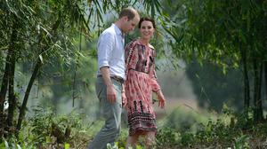 The Duke and Duchess of Cambridge visited the park in 2016 (James Whatling/PA)