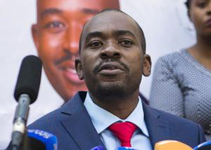Nelson Chamisa (Jerome Delay/AP)