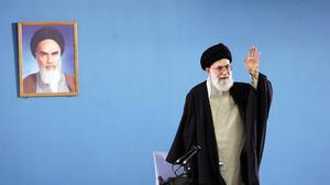 "Iran's supreme leader Ayatollah Ali Khamenei has said the west ""can not and will not"" bring his country to its knees on the nuclear issue (AP)"
