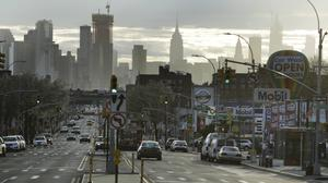 Vehicles in the Queens borough of New York (Frank Franklin II/AP)