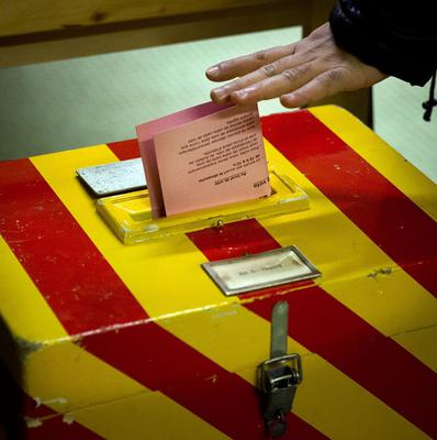 Swiss voters have gone to the polls to decide on a proposal to cap immigration (AP)