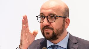 Charles Michel said the transport minister had presented her resignation to the King (AP)