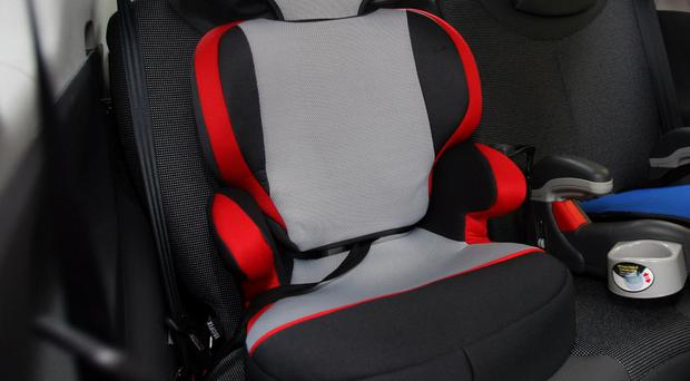 Generic picture of a car seat (Paul Faith/PA)